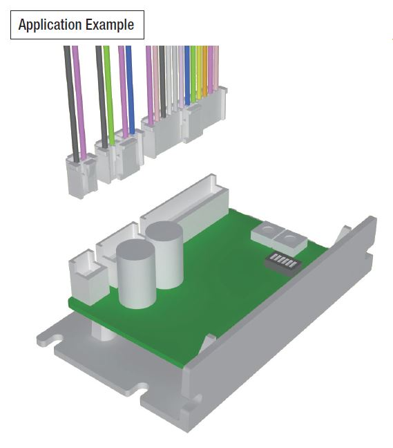 Mount a Driver Horizontally with Vertical Connections