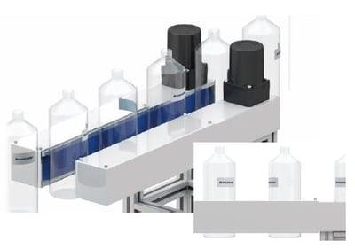 Grip conveyor with 2 AC motors