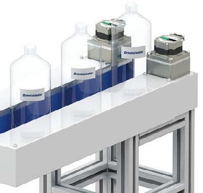 Grip conveyor with BLDC motors