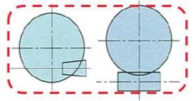 Hypoid vs worm gear footprint comparison