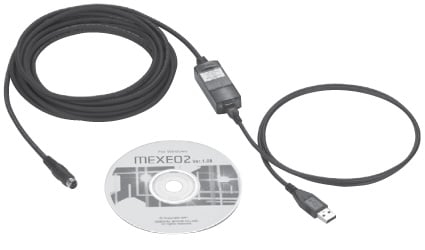 MEXE02 CD, CC05IF-USB cable
