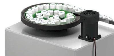Parts feeder bowl