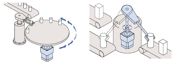 Application examples for geared motors