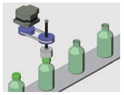 Bottle capping application example