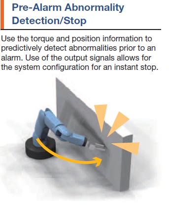Pre-alarm abnormality detection/stop